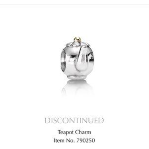 Pandora Teapot Charm (discontinued)